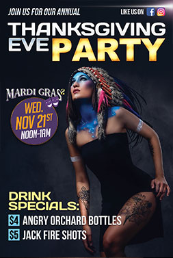 Mardi Gras events